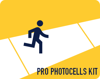 Pro Photocells Kit (batteries and pro tripod)